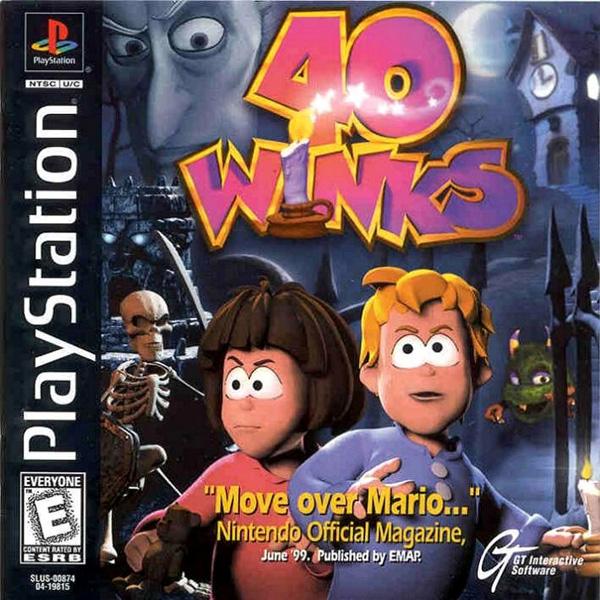 40 Winks [U] ISO < PSX ISOs | Emuparadise